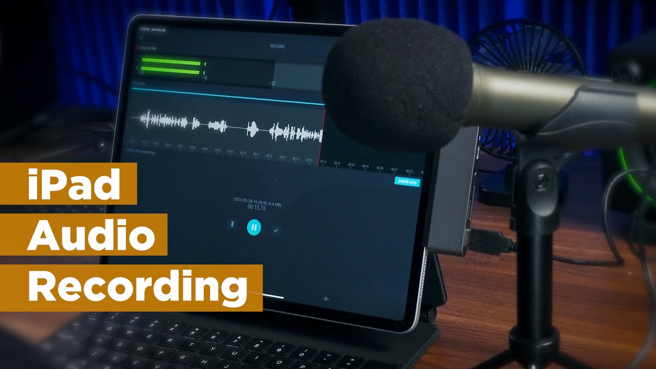 How To EASILY Record Pro Audio with an iPad
