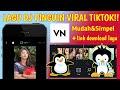 TUTORIAL EDIT TRANSISI VN LAGU DJ PINGUIN VIRAL TIKTOK