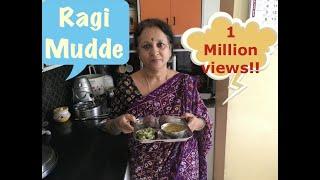 Ragi Mudde  !  Traditional Healthy recipe!!