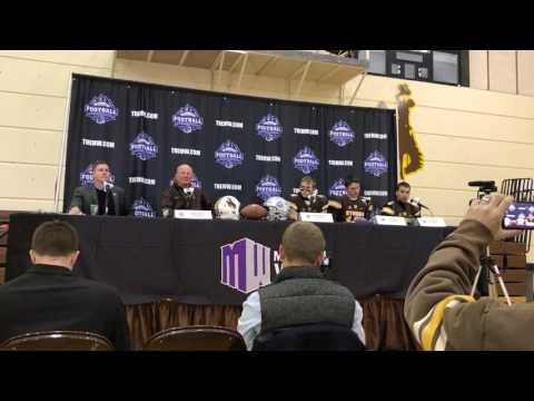 Wyoming football speaks after Mountain West Football Championship Game loss