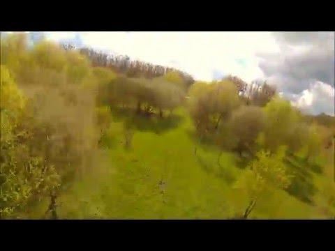 Fly like a bird || FPV FREESTYLE & RACING  || eachine EC250 ||