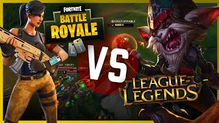 LOL DETHRONED BY FORTNITE? [CONDENSED]