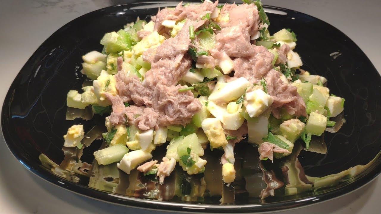 тунец салатный в масле рецепты с фото