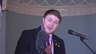 YI Conference 2018 Joe Simons (UKIP Students Chairman)