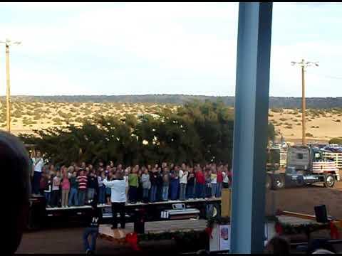 Capitol Christmas Tree 2009-Star Spangled Banner
