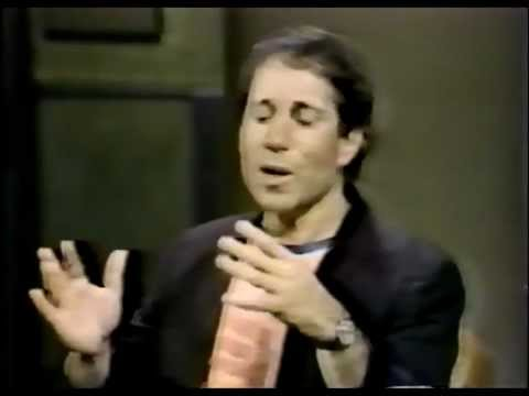 Paul Simon Interview - 20th May 1982