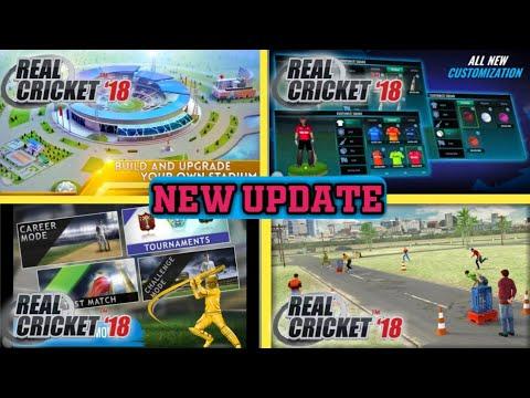 Real Cricket 18 New Update Of 2019 | New Stadium