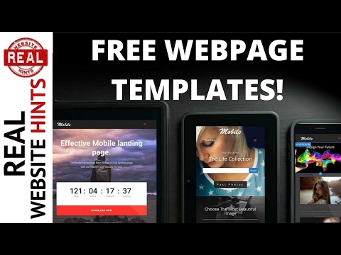 Free Responsive Website Page Templates That You Can Use! wordpress divi theme divi builder