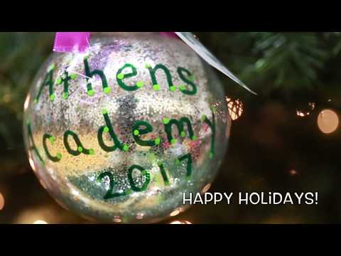 Happy Holidays from Athens Academy!