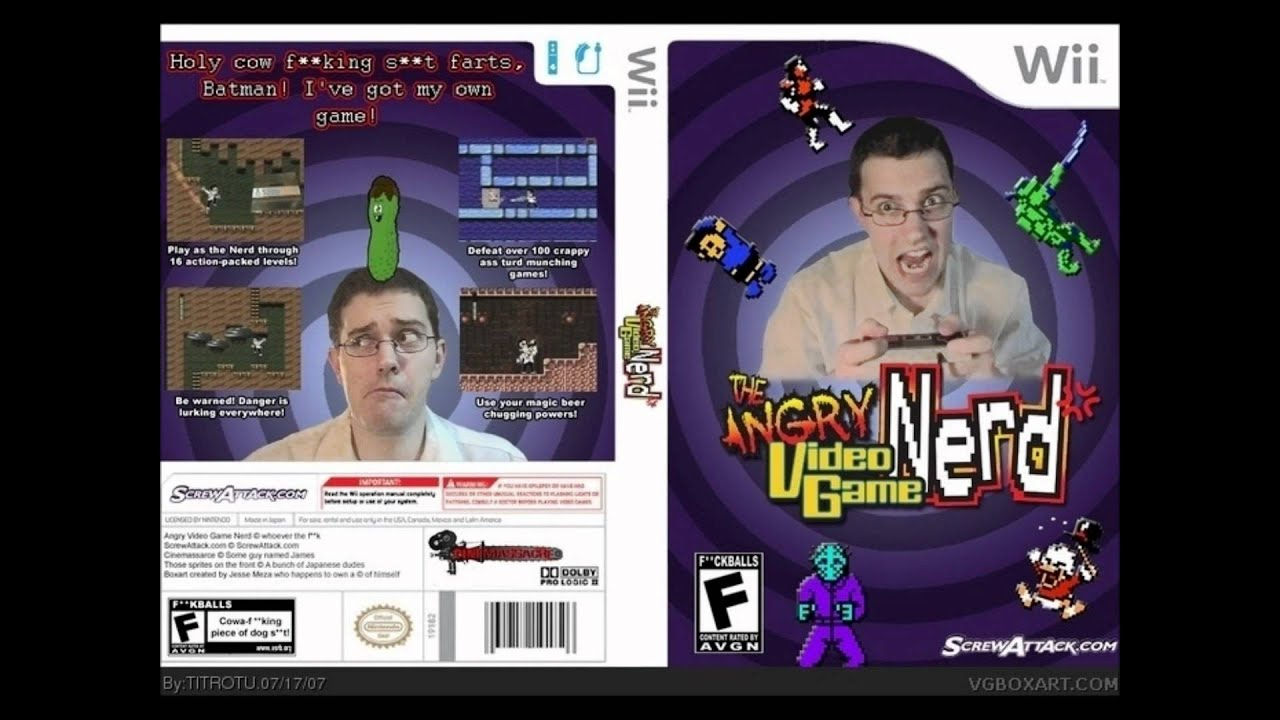 The Angry Video Game Nerd - Theme (8 Bit Version) - YouTube