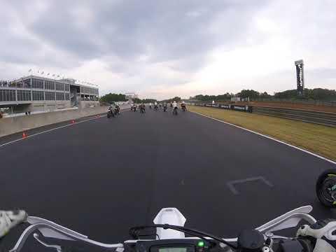 Husqvarna 701 Supermoto - Ahrma Barber 2019 - Saturday Motard Race