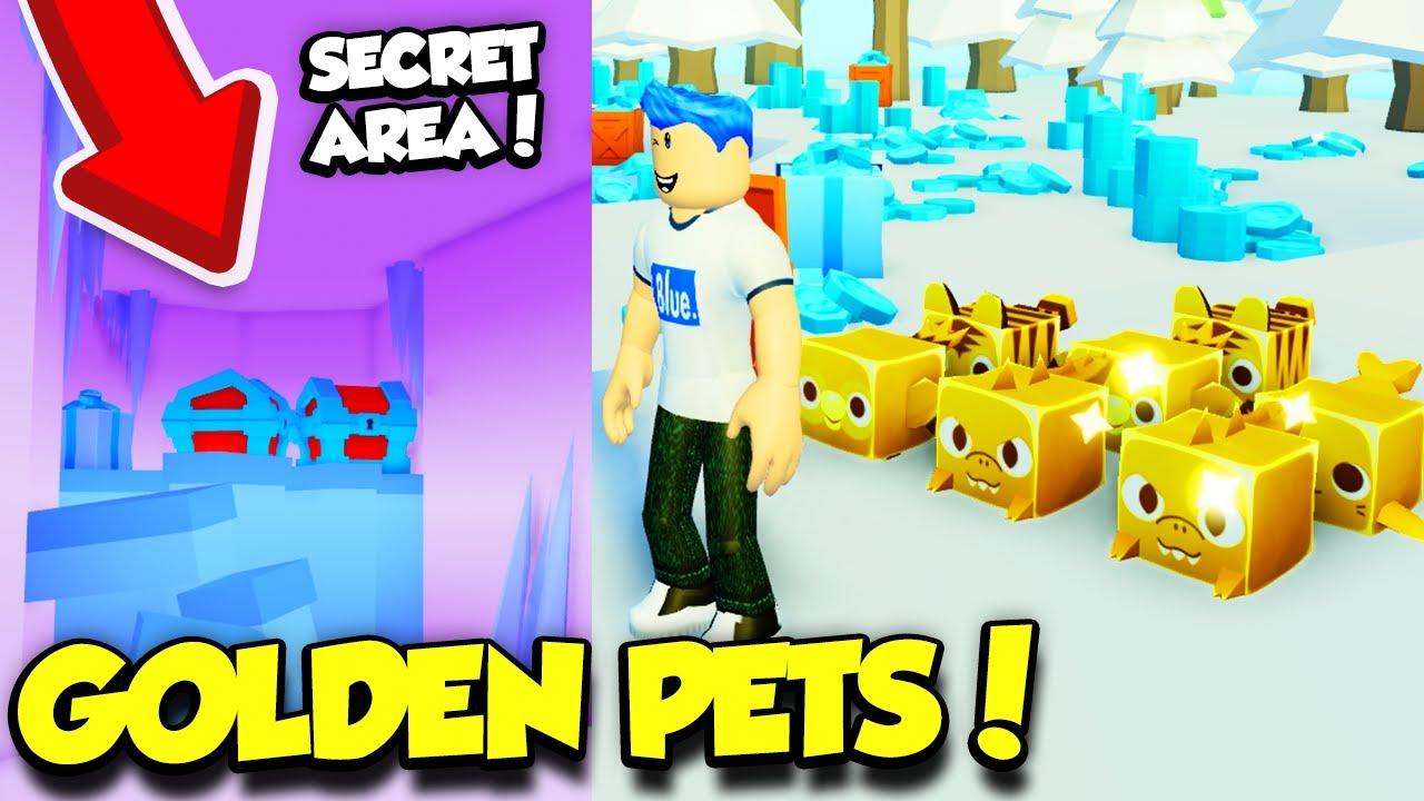 Youtube Roblox Egg Farm Simulator - I Got A Full Team Of Golden Pets In Pet Simulator 2 Update And Found The Secret Area Roblox