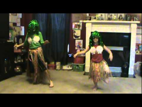 Dancing to the Dr Coconut song w/ Trent and Juliana