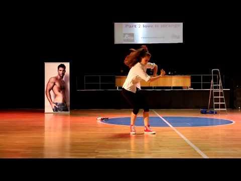 Vicic Ana - Street Dance Show Solo Female Juniors - European Street Dance Show Championship 2014