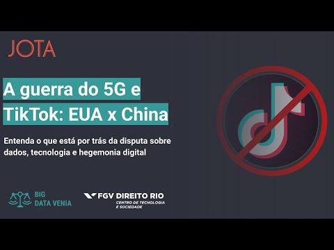 A guerra do 5G e TikTok: EUA e China disputam dados, mercado e futuro digital - Big Data Venia ep. 8