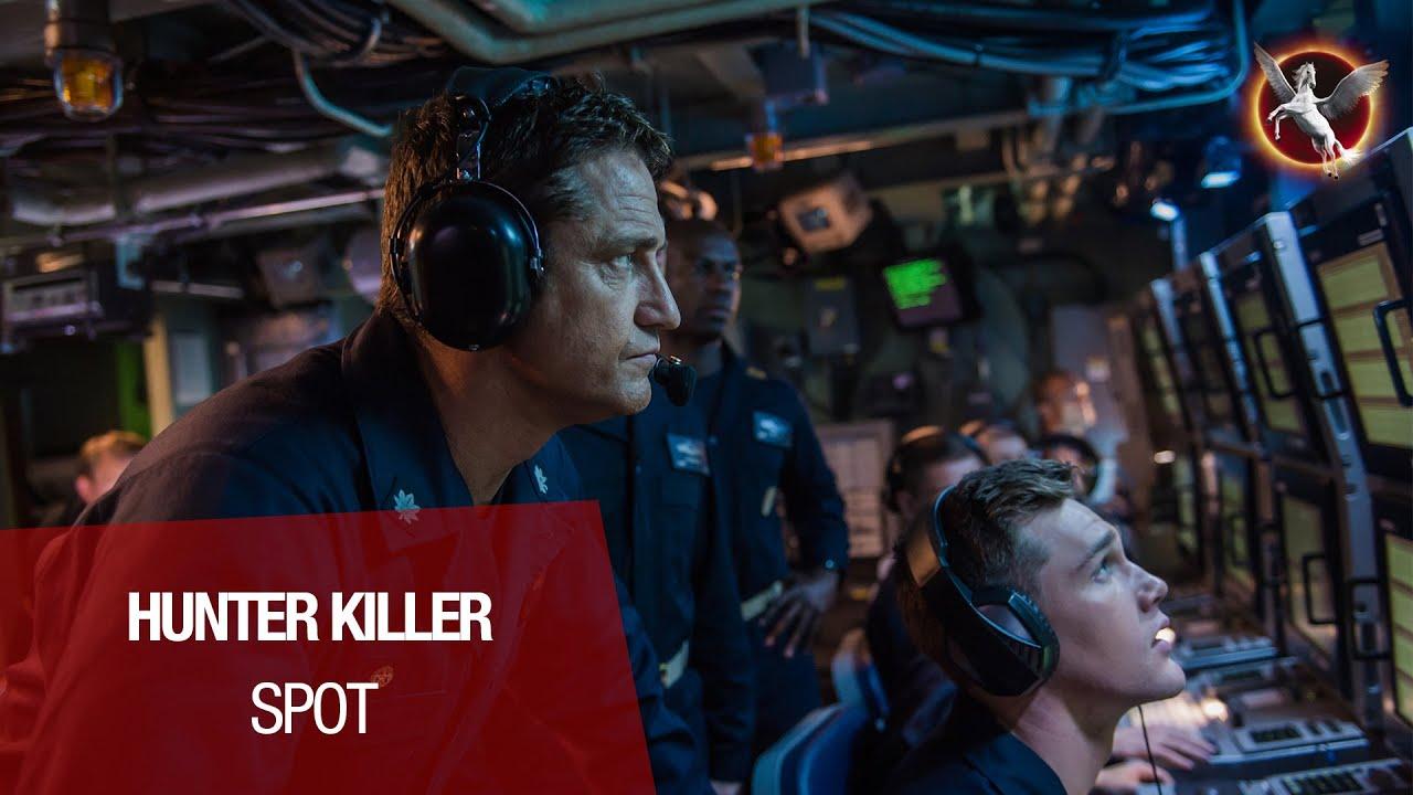 HUNTER KILLER avec Gerard Butler et Gary Oldman au cinéma le 12 décembre !