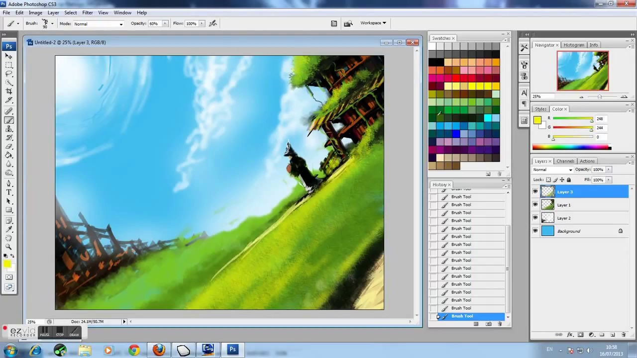 Adobe photoshop cs3 background design tutorial by dlaw85 youtube.
