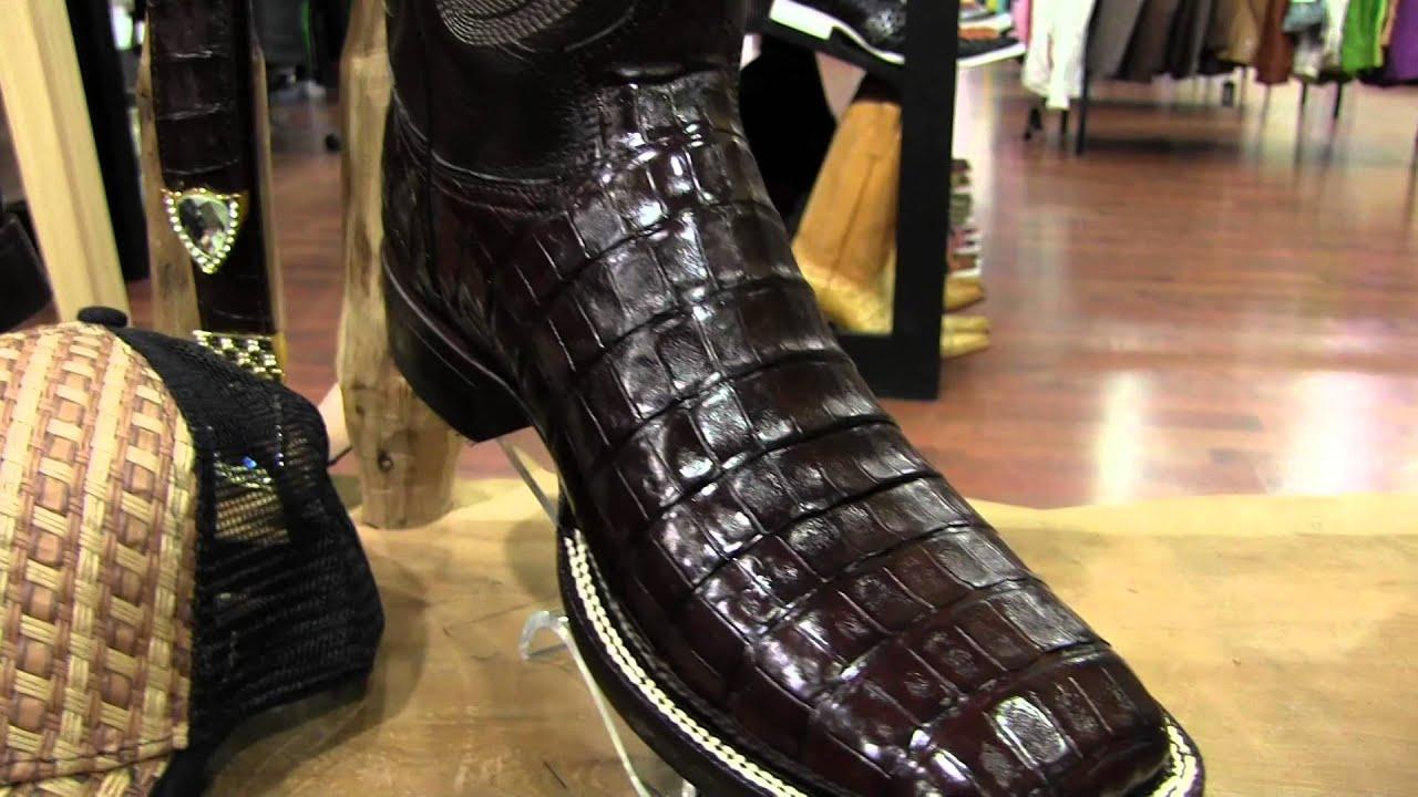 Chaparral Boots Ranchero Toe Caiman Youtube