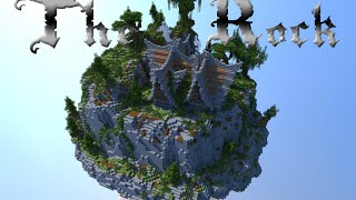 Minecraft building ideas #6: The Rock Medieval/Nordic/Fantasy Style House +Download YouTube