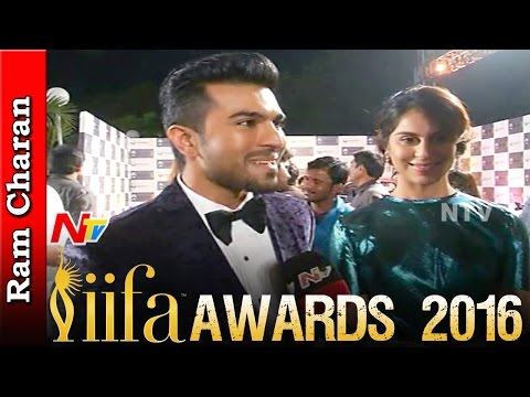 Ram Charan Speaks About Thani Oruvan Remake - IIFA Awards, Hyderabad - NTV Exclusive