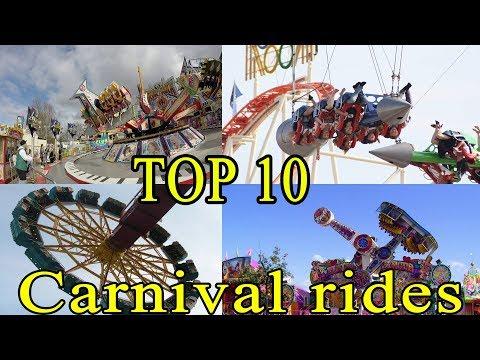 TOP 10 CARNIVALRIDES / FUN FAIR RIDES