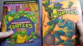 Teenage Mutant Ninja Turtles (1987) Seasons 1 & 2 DVD Unboxing