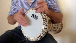 ArabInstruments.com - Darbuka Lesson 1 - Belly Dance Music - Darbuka Solo - Doumbek lesson