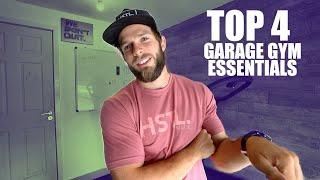 TOP 4 GARAGE GYM ESSENTIALS for CROSSFIT (Small Garage)