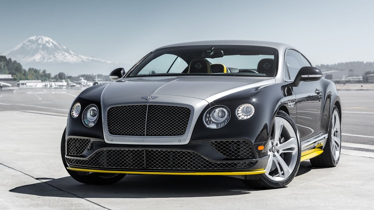 2015 Bentley Continental Gt Speed Breitling Jet Team