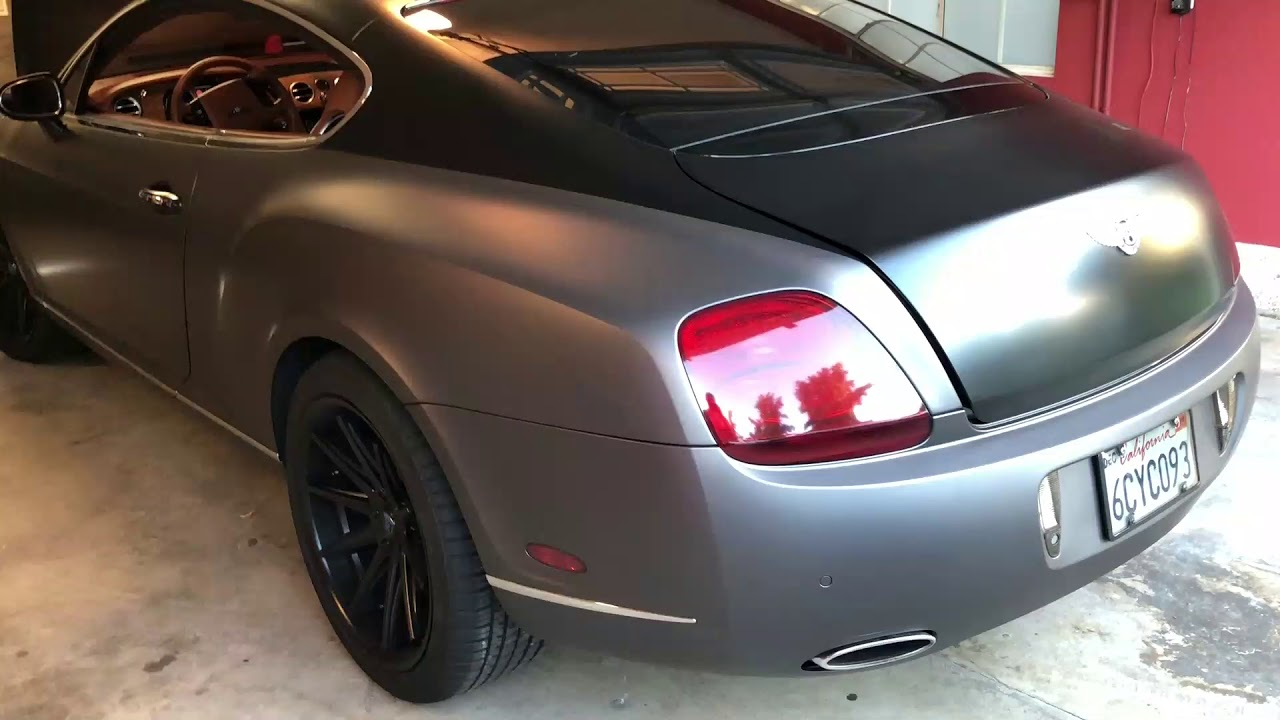 Bentley continental GT battery and fuse box location  YouTube