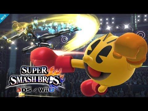 Super Smash Bros Wii U / 3DS - Pac-Man Reveal Trailer [1080p] TRUE-HD QUALITY
