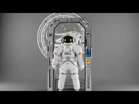 WIP NASA Z serie EVA space suit concept [3dsmax Vray]