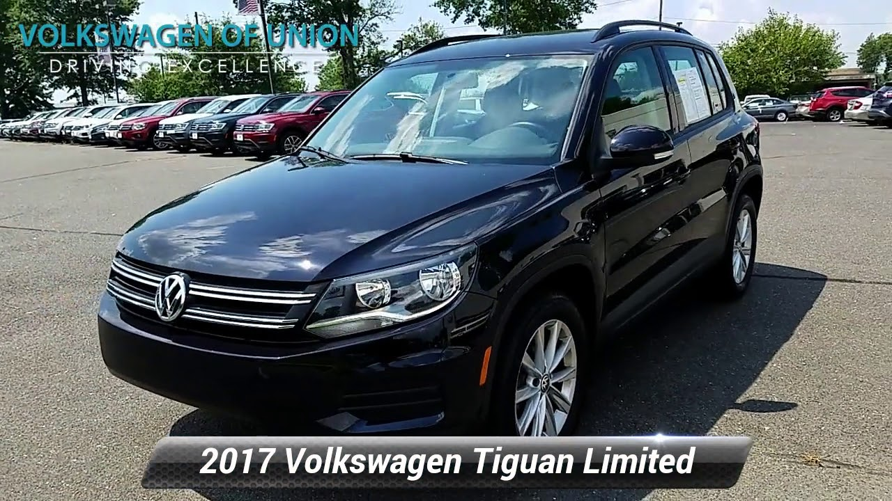 certified 2017 volkswagen tiguan limited 2 0t union nj hk052224 youtube youtube