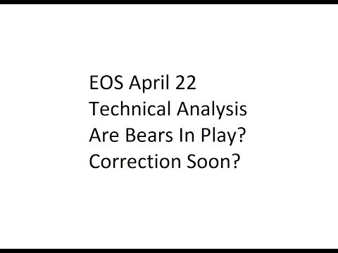 EOS April 22 Technical Analysis - Are Bears In Play? Correction Soon?