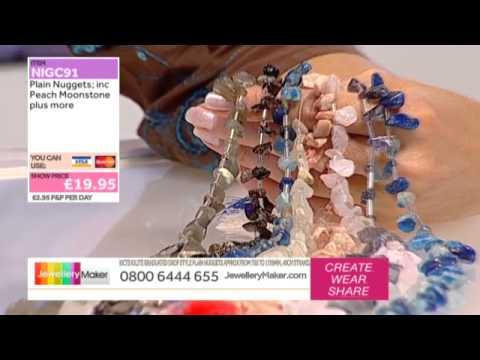 How to make Macrame Jewellery - JewelleryMaker LIVE (AM) 30/09/2014