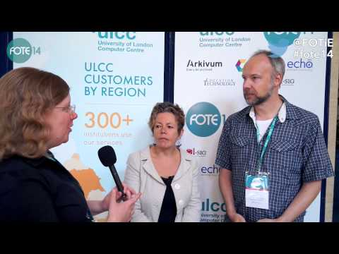 FOTE 14 'Behind the Scenes' Interview: Rebecca Wilson and Tim Neumann