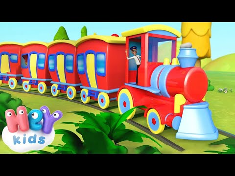 Fischia il treno,  il treno fischia 🚂 Canzoni per bambini piccoli