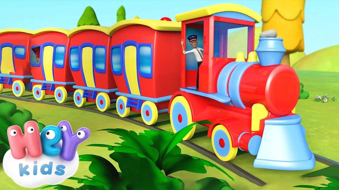 Fischia Il Treno Il Treno Fischia Canzoni Per Bambini Piccoli