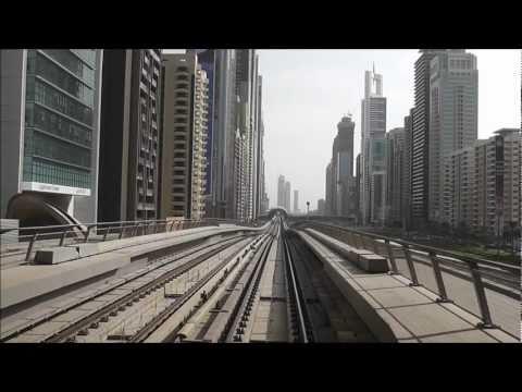 Dubai Metro - Red Line - Speedup - Part 1/2 [720p]