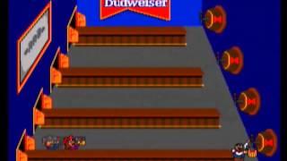 Tapper (Arcade) gameplay