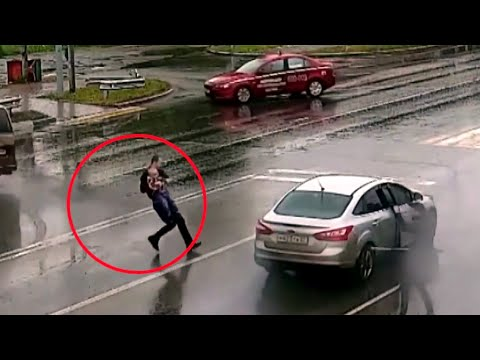 В Хабаровске очевидец