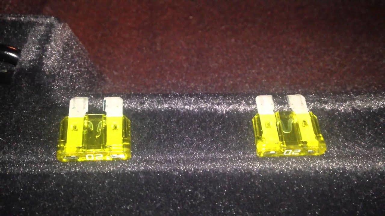 bmw e65 e66 broken cigarette lighter 12 volt fix burned out fuse problem [ 1280 x 720 Pixel ]