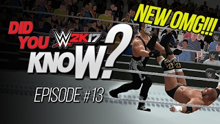 wwe 2k17 did you know new catching finisher minitrons locations more episode 13