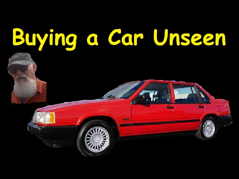 Customer sees Classic Car bought Site Unseen for first time ~ Video