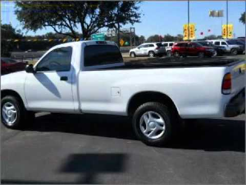 2002 toyota tundra regular cab san antonio tx youtube. Black Bedroom Furniture Sets. Home Design Ideas