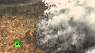 К тушению пожара в Иркутском районе подключили вертолет Ми-8(В Иркутской области объявлен пятый (чрезвычайный) уровень пожарной опасности. К тушению пожара подключены..., 2015-05-23T10:00:59.000Z)