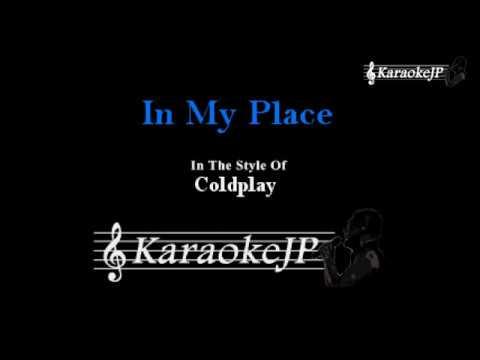 In My Place (Karaoke) - Coldplay