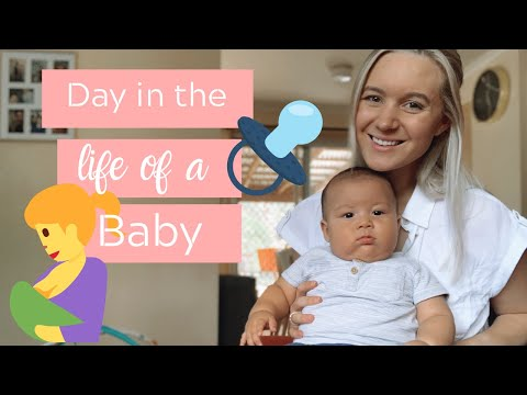 4 MONTH OLD DAILY BABY ROUTINE | Day in the life of a baby | Khia Chagas