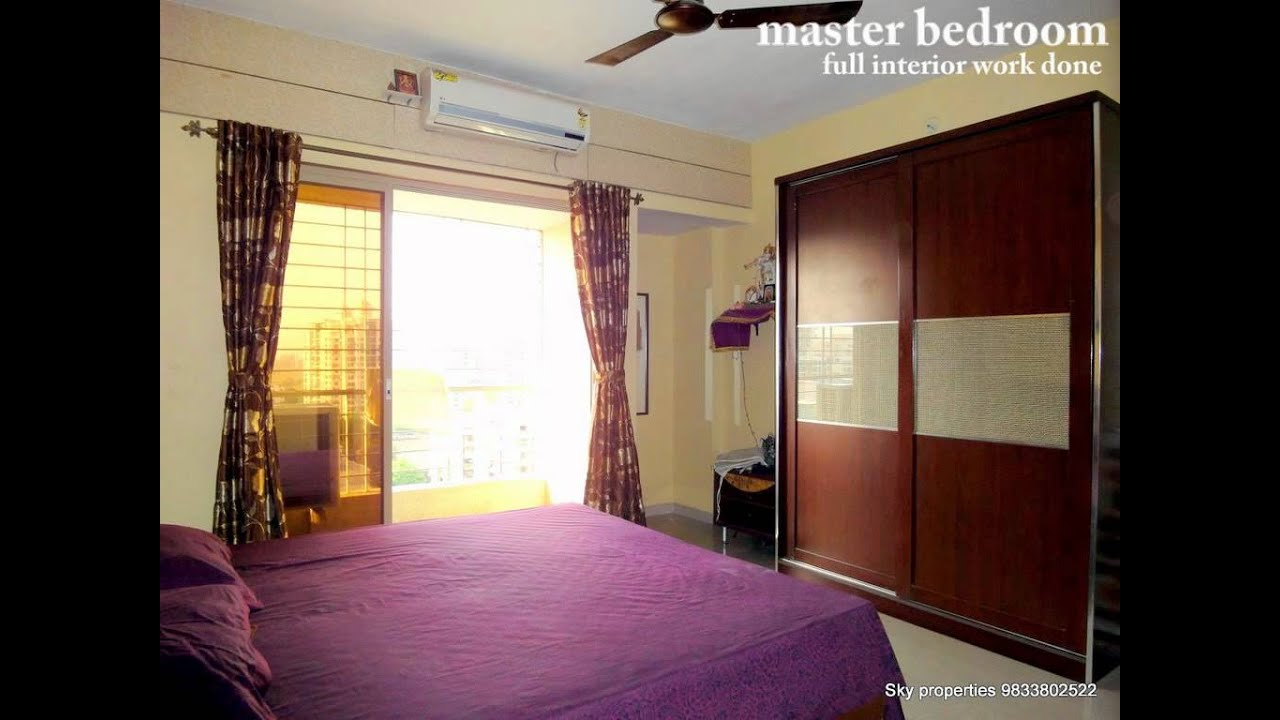 Bhk For Sale In Kharghar YouTube - 14 x 11 bedroom design