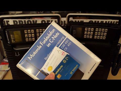 Unboxing Motorola PRX C451 1988 phone